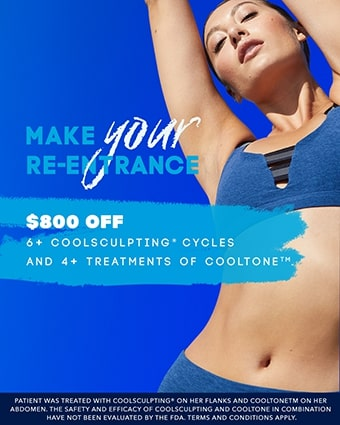 Amazing deal on Coolsculpting® and Cooltone®